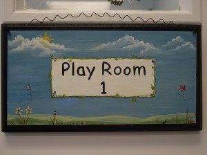 Personalized Play Room Plaque