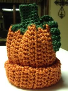 Pumpkin Bumpkin Baby Bonnet