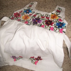 Handmade Embroideried Toddler Girl Dress