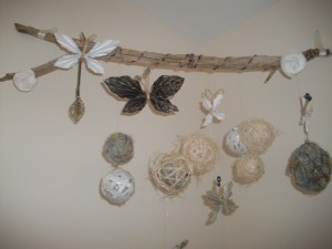 Handmade Organic Nature Mobile